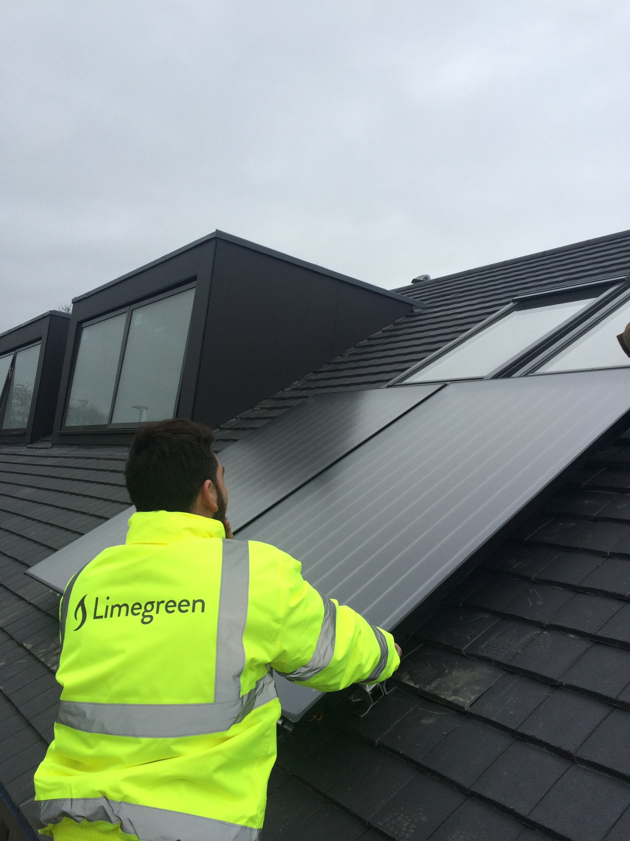 Solar Thermal Heat Your Water For Free Limegreen